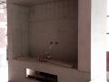 Pool room TV area