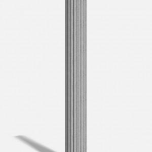 Column Fluted 350mm x 3m