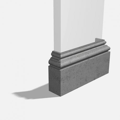 Pilaster Base