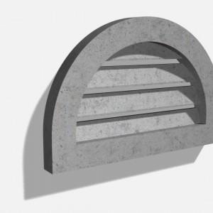 Wall_Semi Circular Vent