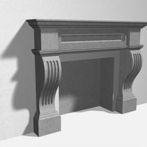 Fireplace 1F